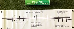 The PLANE PERFECTION Putting Mat